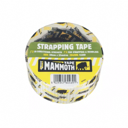 Everbuild 2STRAP Strapping Tape Clear 50mm x 25m